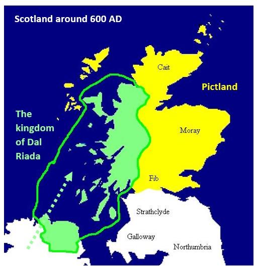Map Of Ireland 600 Ad.Engelsk Og Norsk Pa Mo Og Oyrane Licensed For Non Commercial Use